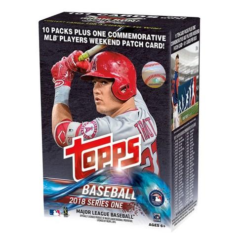 2018 Mlb Topps Baseball Trading Cards Series 1 Full Box