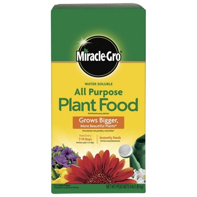 Miracle-Gro Water Soluble All Purpose Plant Food 4lb