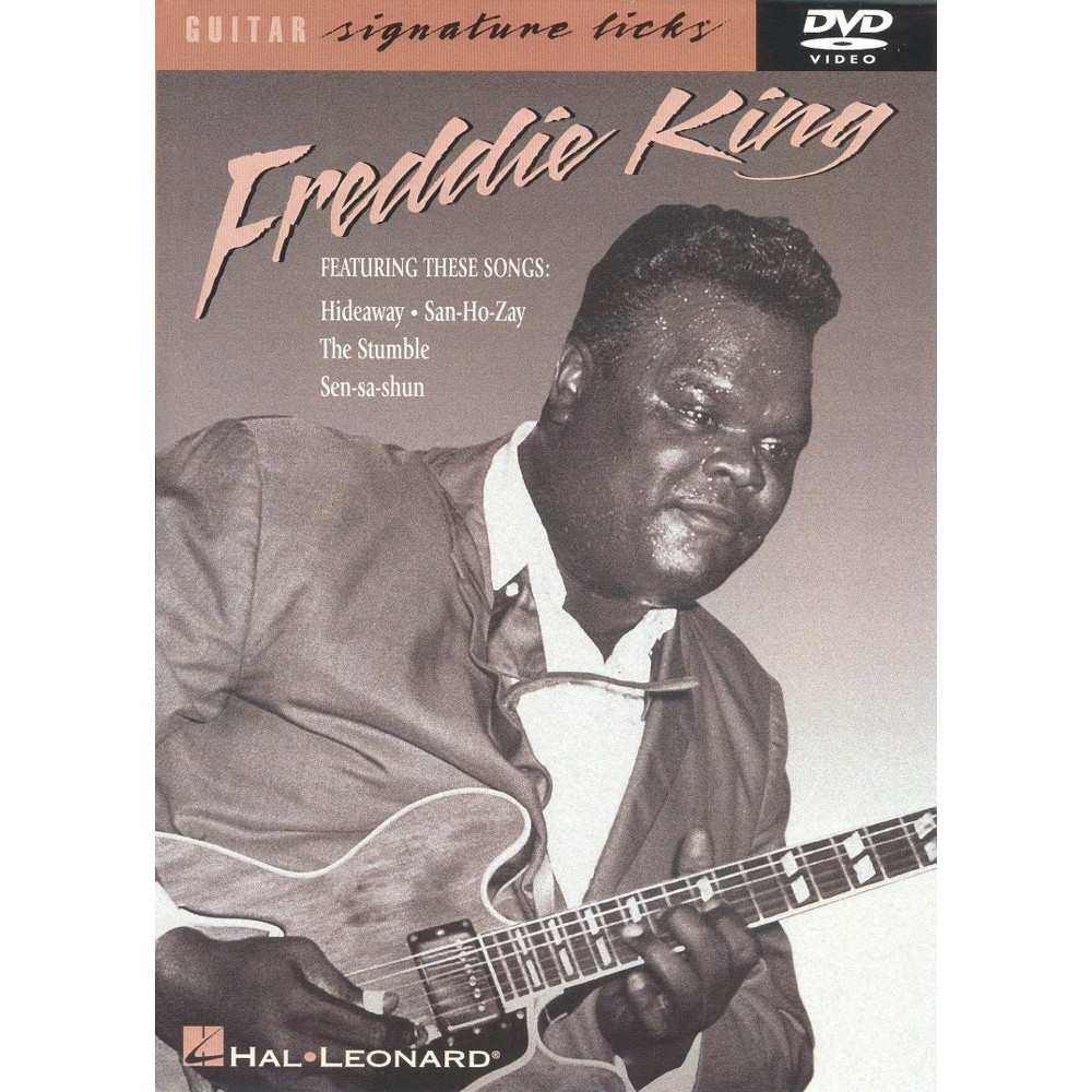Freddie King:Guitar Signature Licks (Dvd)