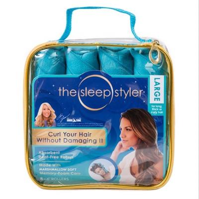 As Seen on TV Sleep Styler Hair Rollers Teal