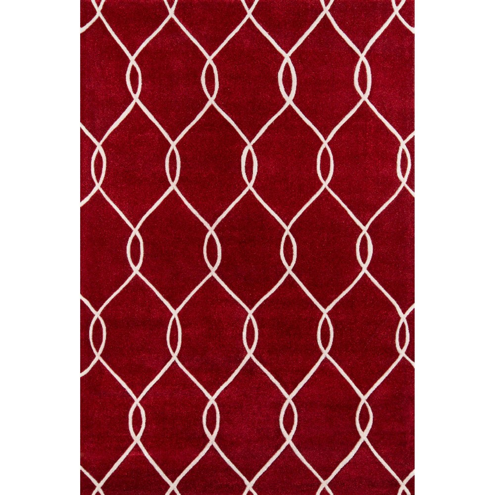 Link Area Rug - Red (8'x10')