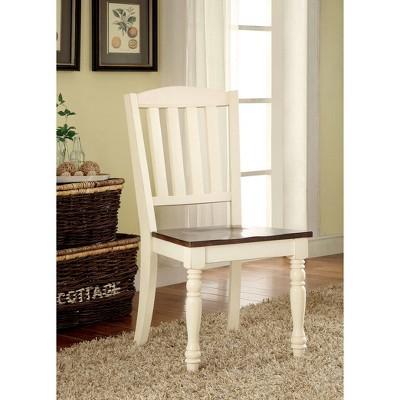 sun pine cottage style wooden chair wood vintage white dark oak rh target com