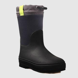 Boys' Robbie Winter Boots - Cat & Jack™ Black 1