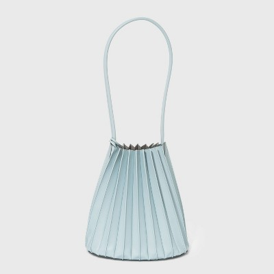 Pleated Bucket Bag - A New Day™