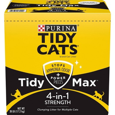 Tidy Cats Max 4-in-1 Strength Clumping - 38lb
