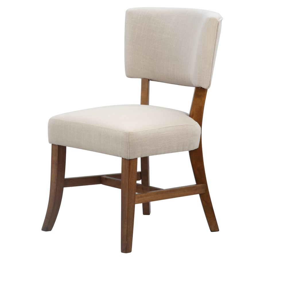 Rayna Upholstered Chair - Pecan - International Concepts