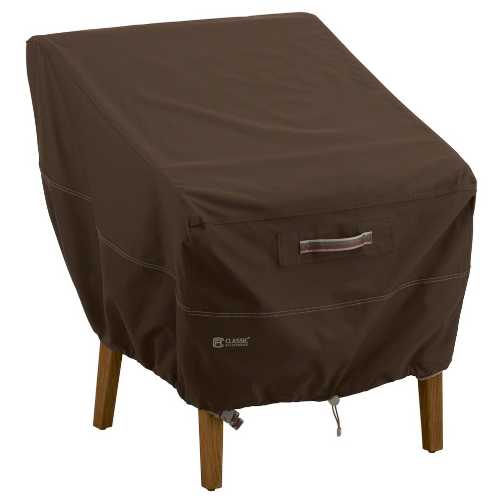 Madrona Patio Chair Cover - Dark Cocoa (Brown) - Classic Accessories
