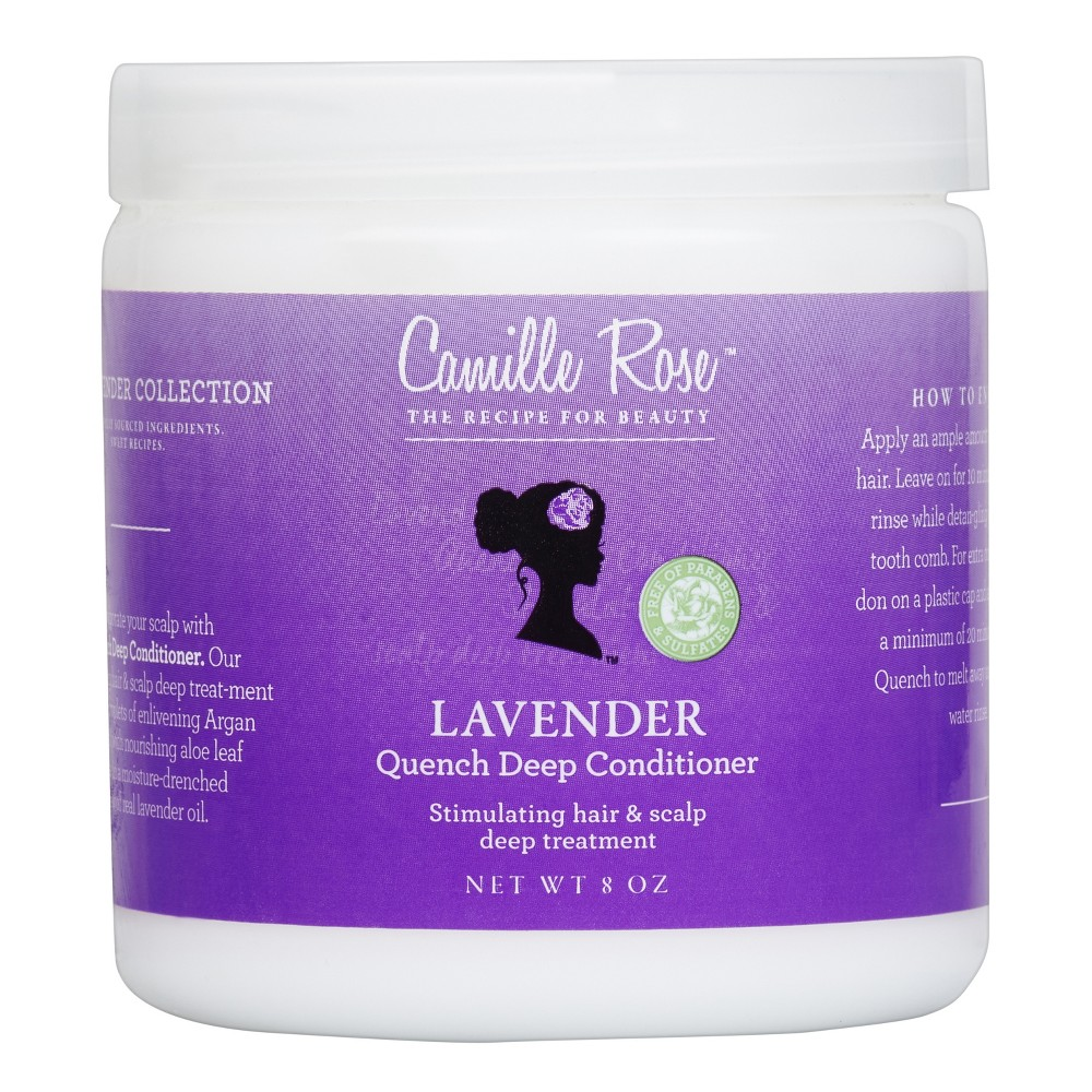Image of Camille Rose Lavender Quench Deep Conditioner - 8oz