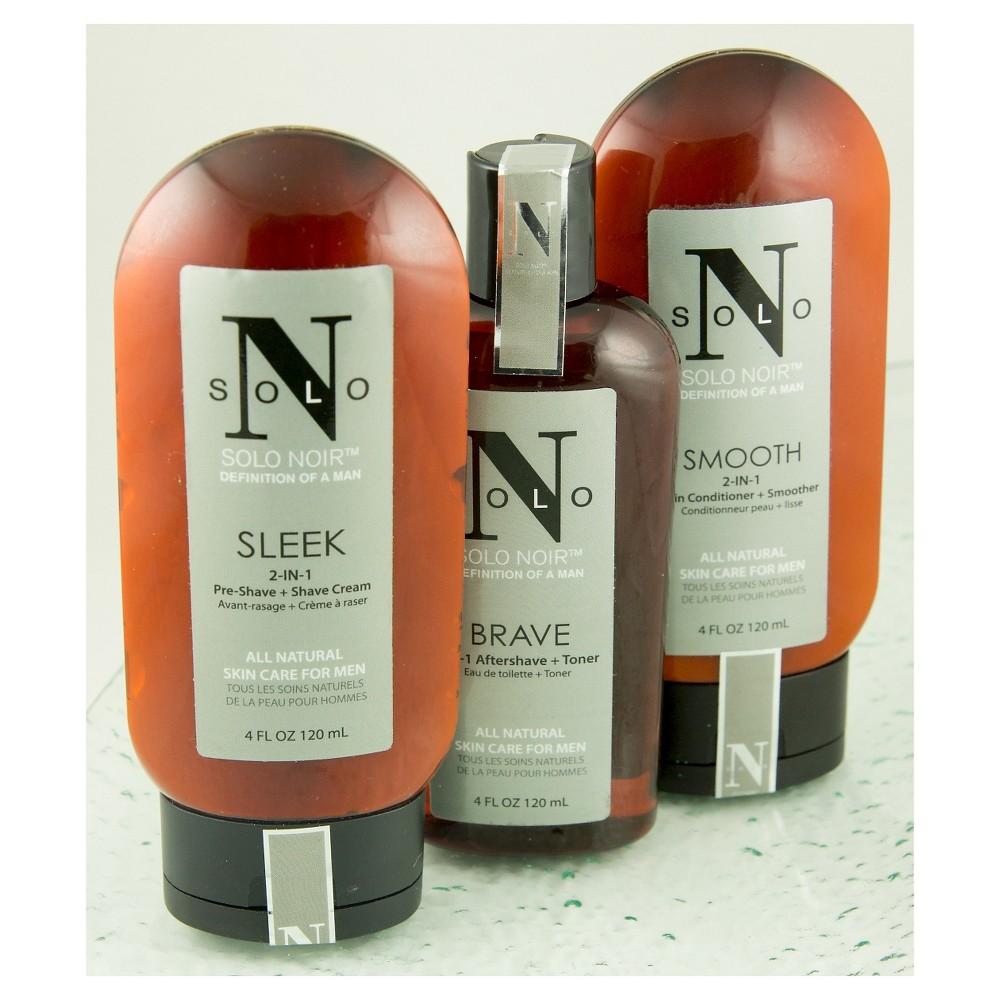 Solo Noir Shaving System 101: 100% All-Natural Shaving Kit