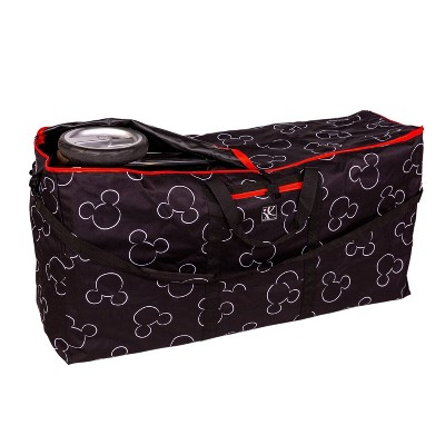 Disney Baby + J.L. Childress single & Double Stroller Travel Bag Mickey Black