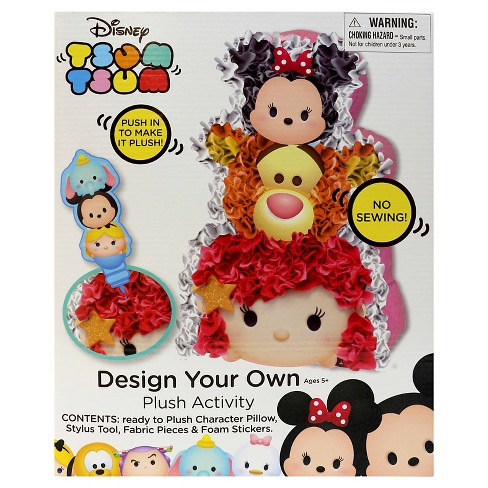 Tsum Tsum Design Your Own Plush Activity - image 1 of 2