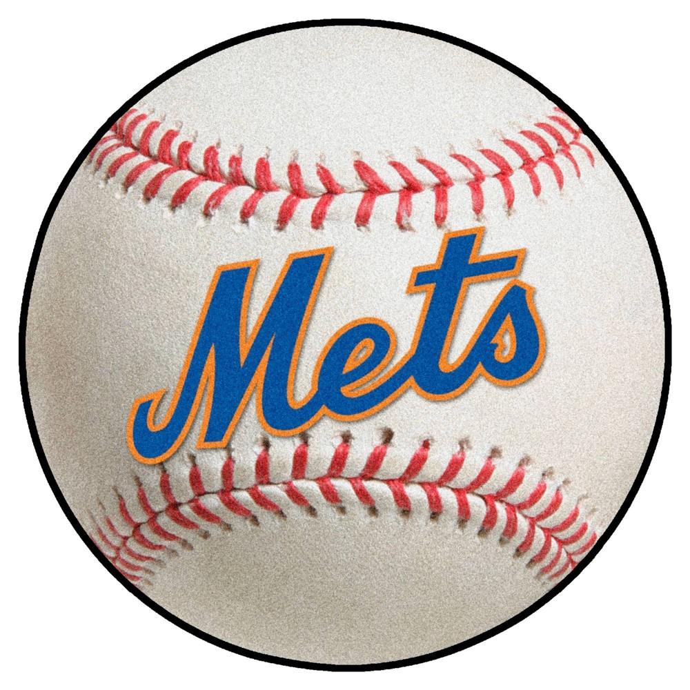 Mlb New York Mets 27 34 X27 34 Retro Baseball Mat