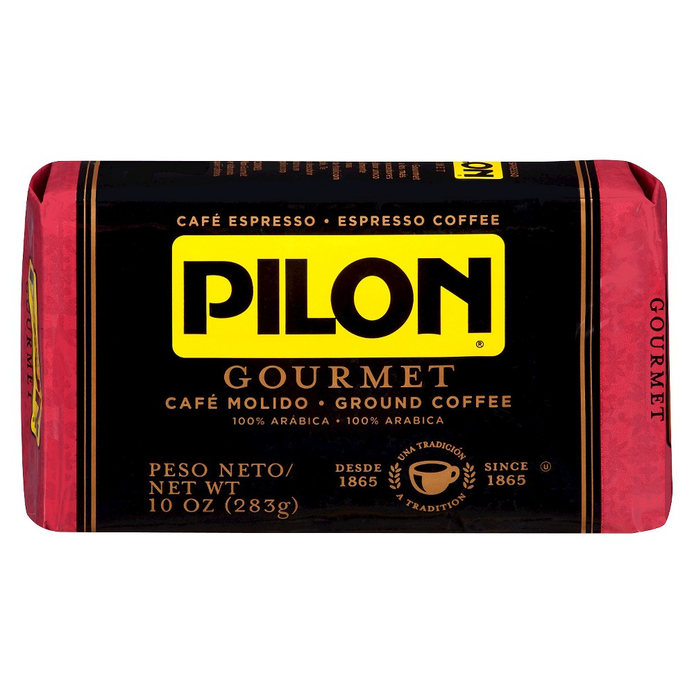 Pilon Roast Gourmet Espresso Dark Roast Ground Coffee - 10oz