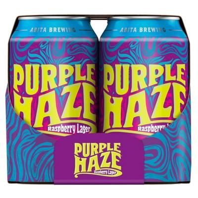 Abita Purple Haze Raspberry Lager Beer - 6pk/12 fl oz Cans