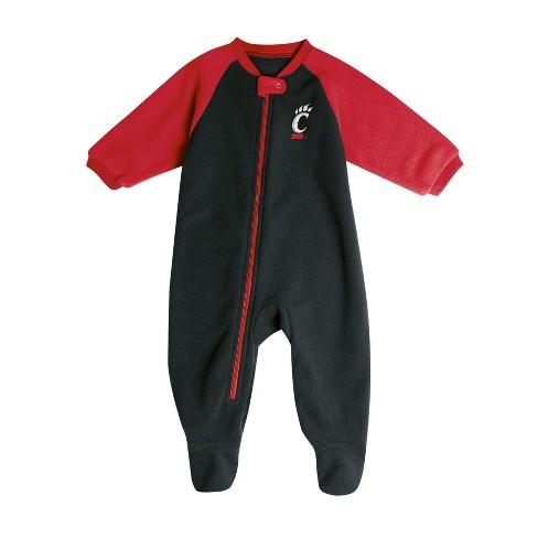 95faa630a Cincinnati Bearcats Baby Boys  Long Sleeve Blanket Sleeper   Target
