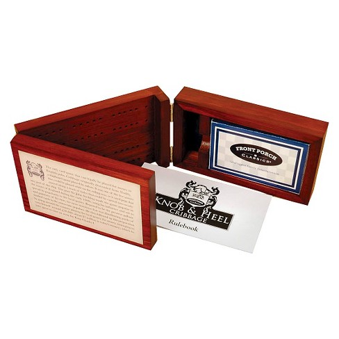 Front Porch Classics Knob & Heel Cribbage Game - image 1 of 1
