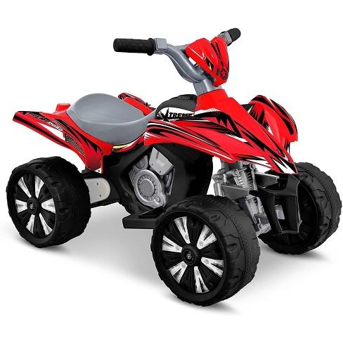 Kid Motorz 6V Xtreme Quad Powered Ride-On - Red - image 1 of 3