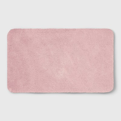 23 x37  Soft Nylon Solid Bath Rug Peach - Opalhouse™