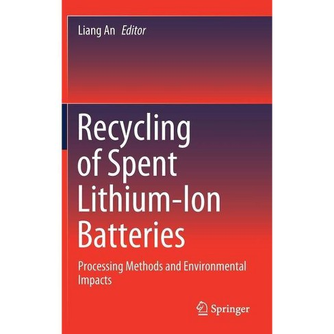 Recycling of Spent Lithium-Ion Batteries - (Hardcover) - image 1 of 1