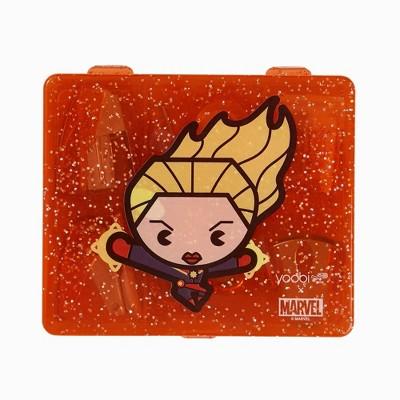 Mini Supply Kit Flat Box Kawaii Captain Marvel - Yoobi™