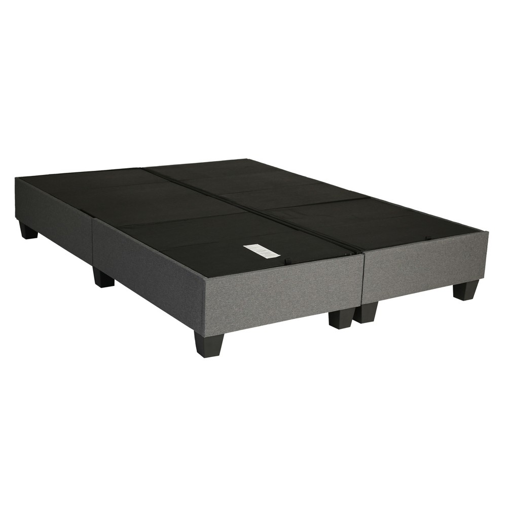 Image of Queen Envision Foundation Frame Gray - Hollywood Bed