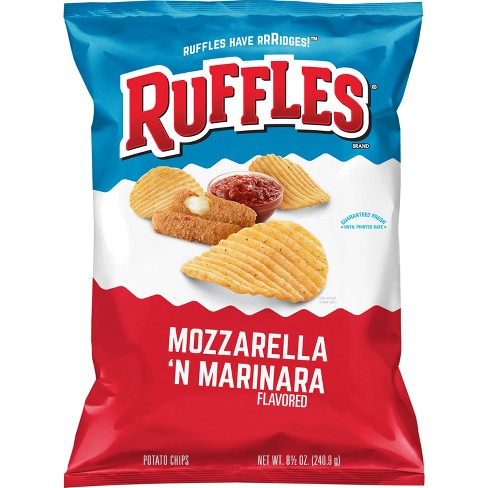 Image result for mozzarella and marinara chips ruffles