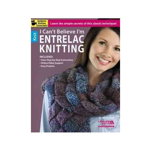 I Cant Believe Im Entrelac Knitting Paperback Target