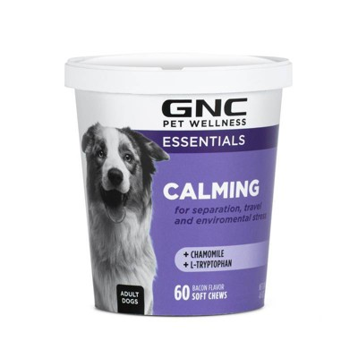 GNC Essential Calming Dog Anxiety Prevention - 60ct