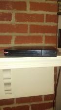 LG Progressive Scan DVD Player - Black (DP132)