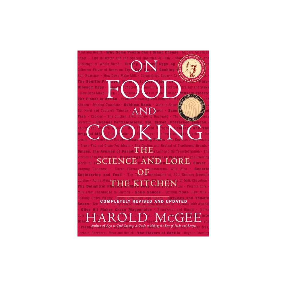 On Food And Cooking By Harold Mcgee Hardcover