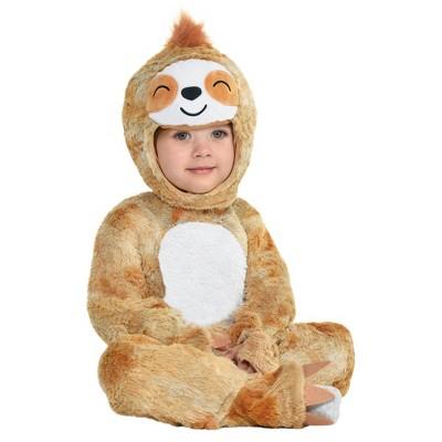 Baby Cuddly Sloth Halloween Costume