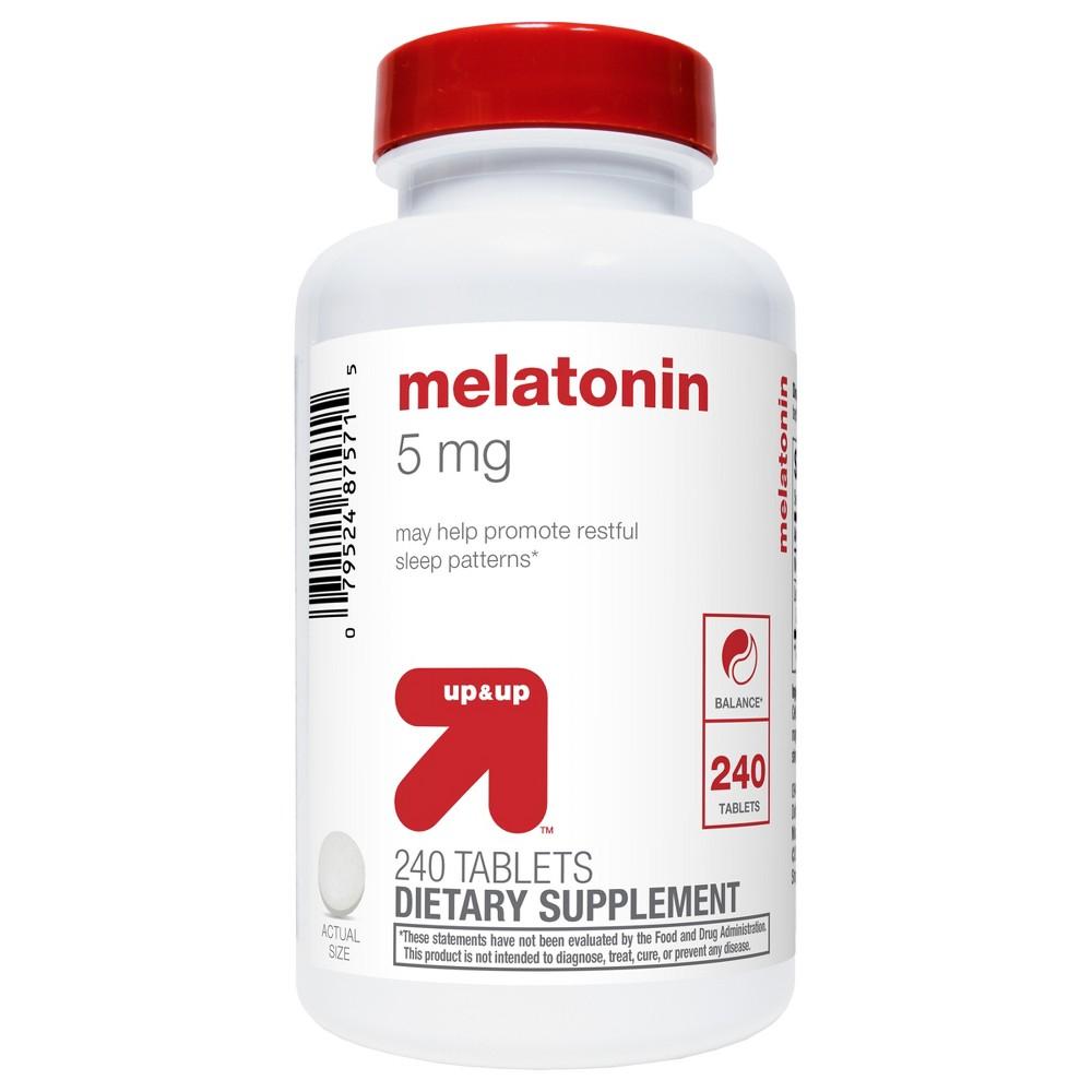 Melatonin Tablets - 240ct - Up&Up