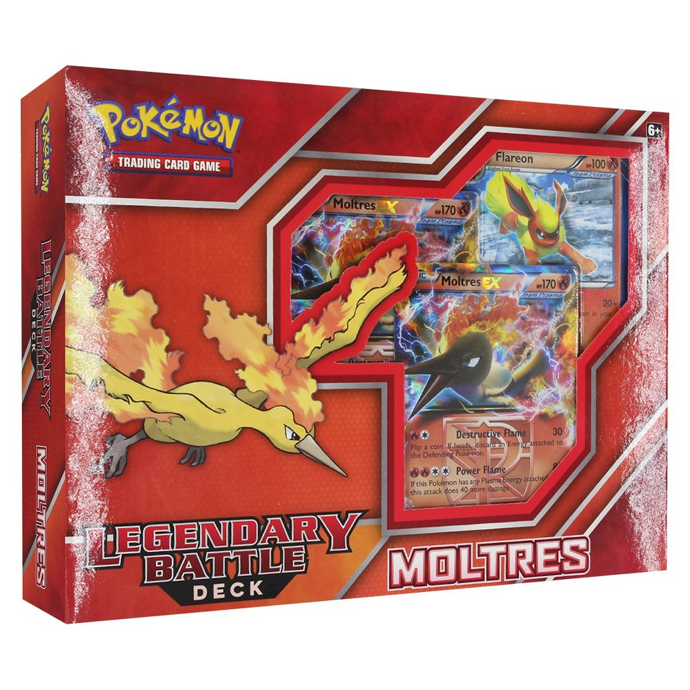 Pokemon Legendary Battle Deck-Moltres Collectible Trading Cards