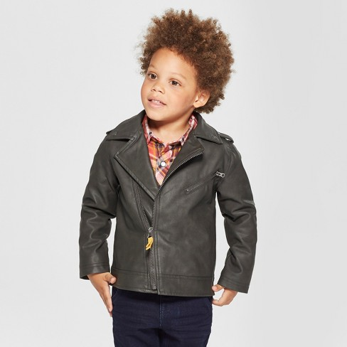 50dbfd987 Toddler Boys  Genuine Kids® From OshKosh Moto Jacket Asymmetrical ...