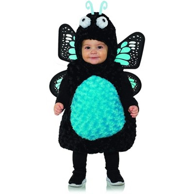 Underwraps Costumes Blue Butterfly Belly Babies Toddler Costume