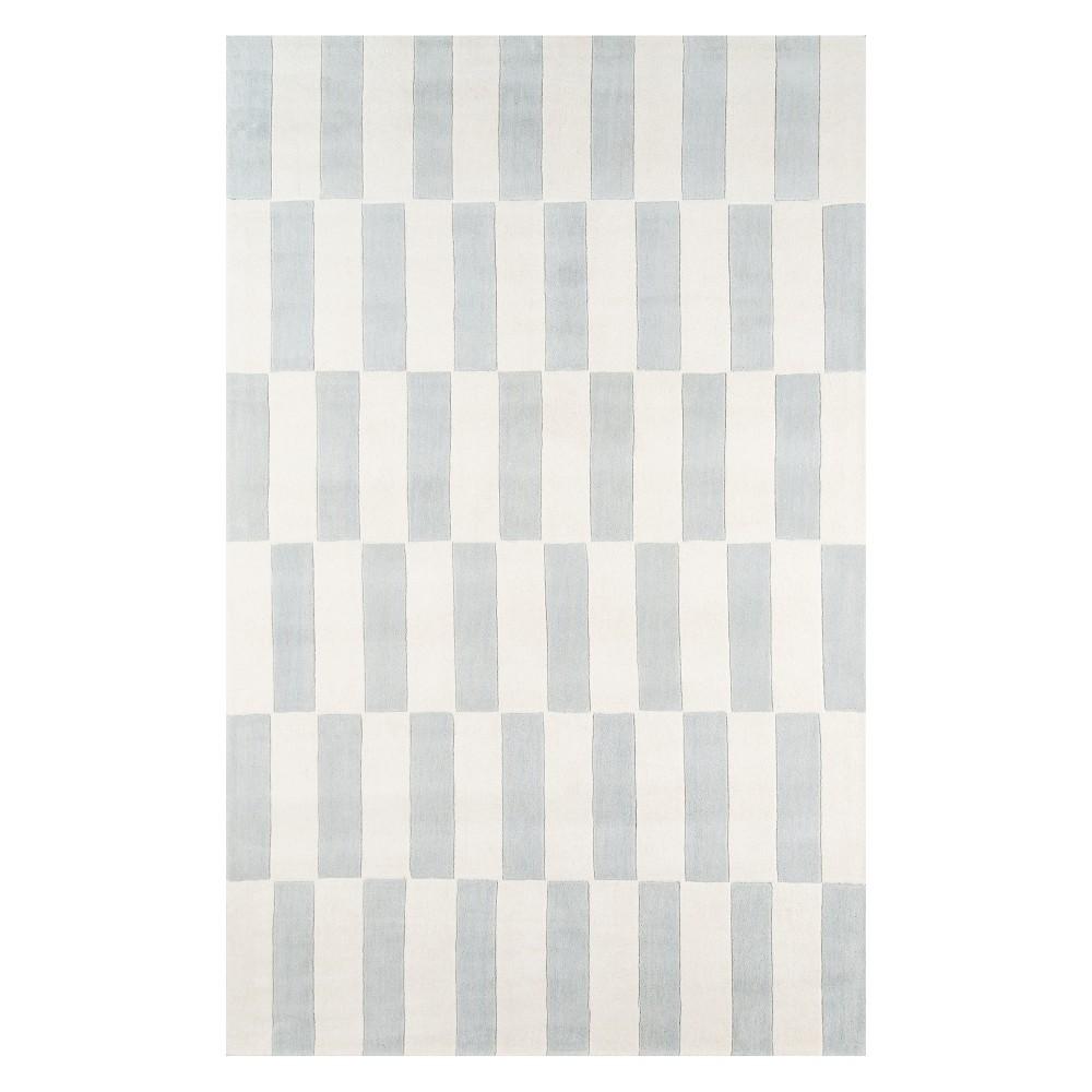 8'X10' Geometric Tufted Area Rug Gray - Novogratz By Momeni