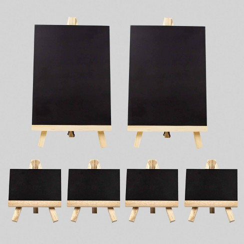 3pk 6pc Chalkboard Easels - Bullseye's Playground™ - image 1 of 3