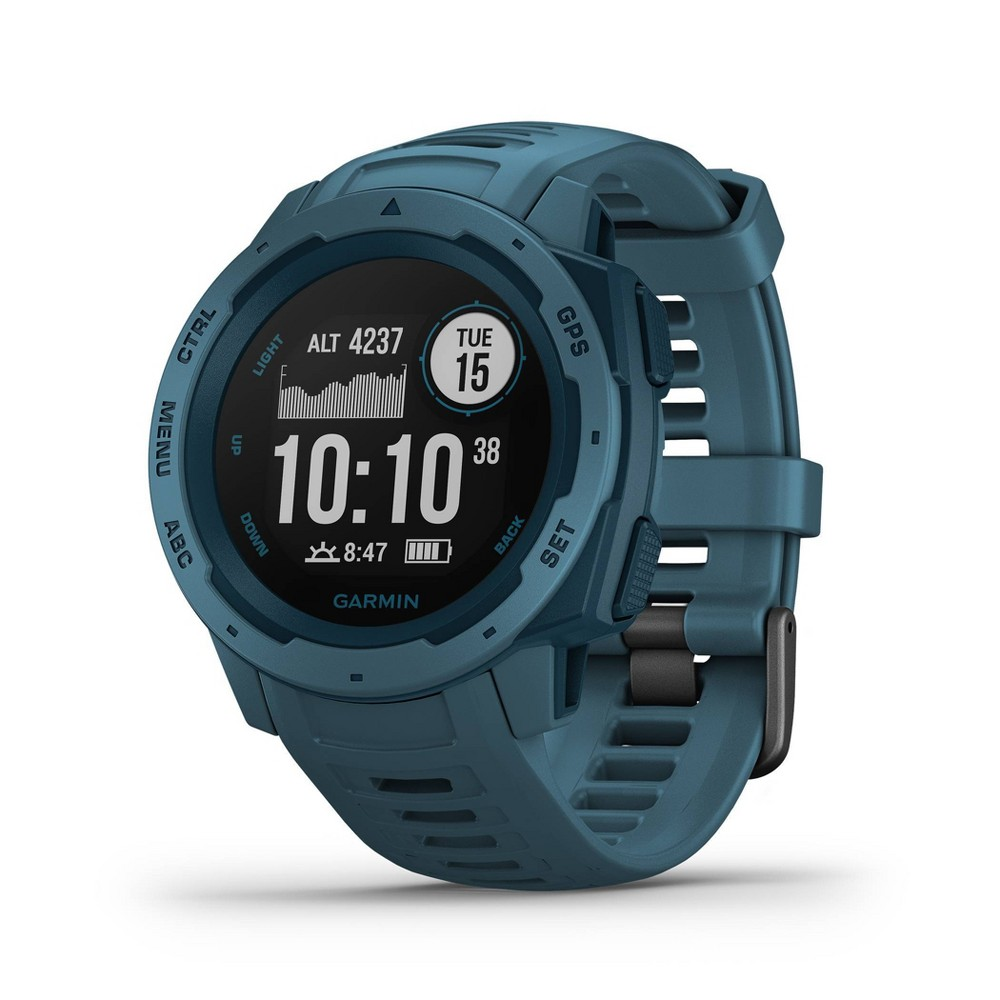 Garmin Instinct Rugged Gps Watch - Lakeside Blue