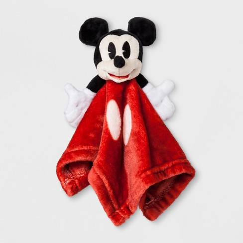 Junk Food Baby Boys' Disney Mickey Mouse Security Blanket - Red - image 1 of 1