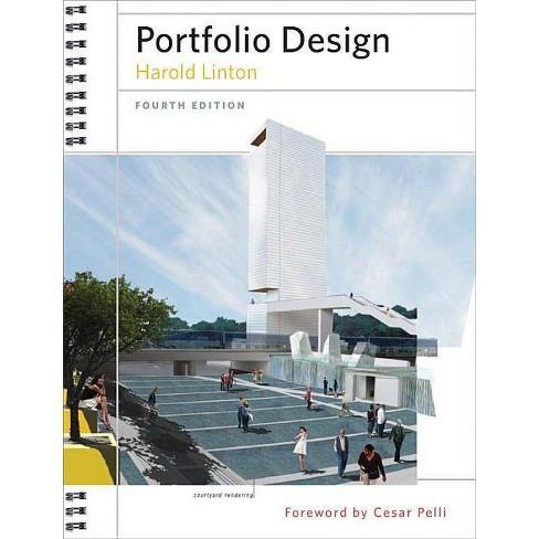 Portfolio Design - 4 Edition by  Harold Linton (Hardcover) - image 1 of 1