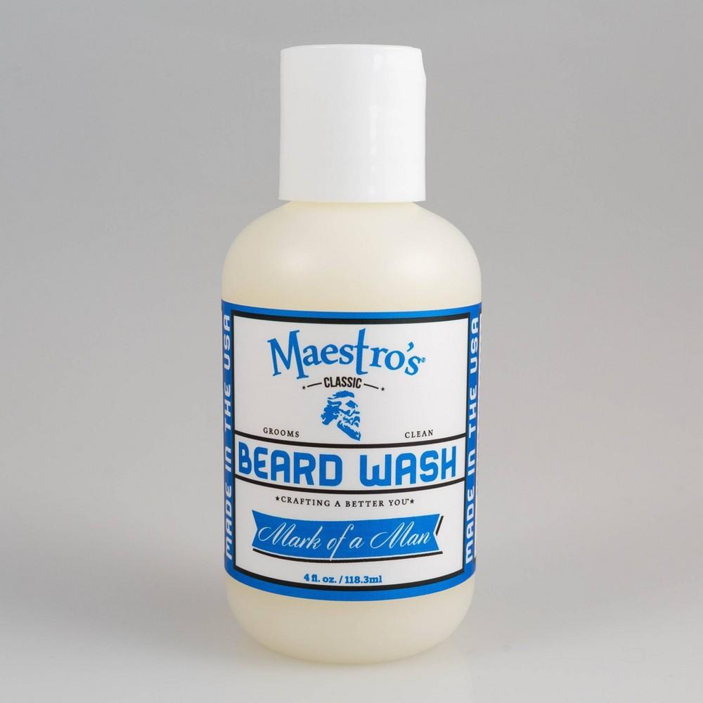 Image of Maestro's Classic Mark of a Man Blend Beard Wash - 4 fl oz