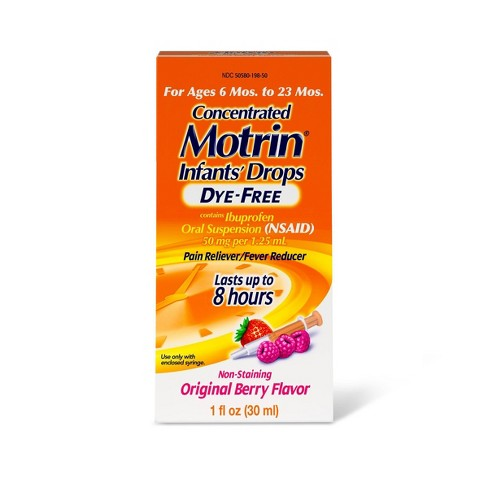 Motrin Infant Drops, Berry - 1  fl oz - image 1 of 5
