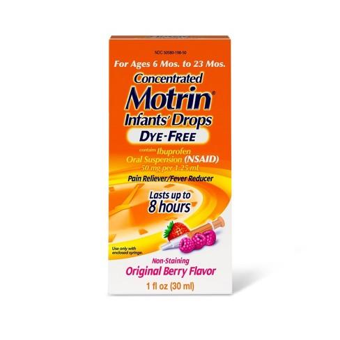 Motrin Infant Drops, Berry - 1  fl oz - image 1 of 4