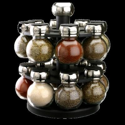 Olde Thompson Orbit Spice Rack - 16 Jars