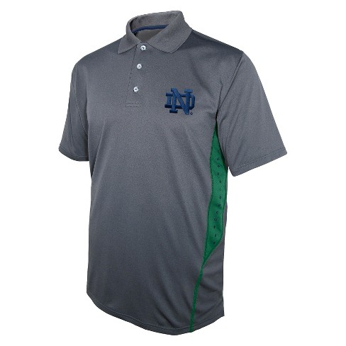 Notre Dame Fighting Irish Men's Polo Gray - image 1 of 1