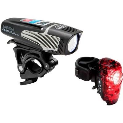 NiteRider Lumina OLED Boost And Solas Combo Headlight & Taillight Set