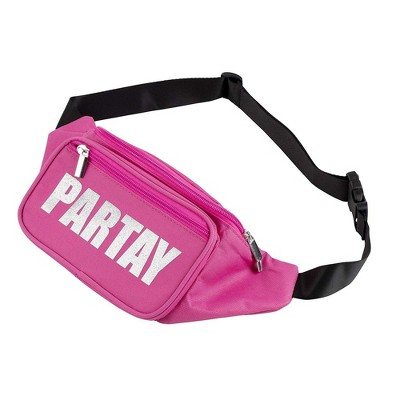 Women Fanny Pack Pink Festival Outdoor Travel Hip Bum Bag Waist Pouch