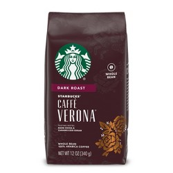 Starbucks Caffè Verona Dark Roast Whole Bean Coffee - 12oz