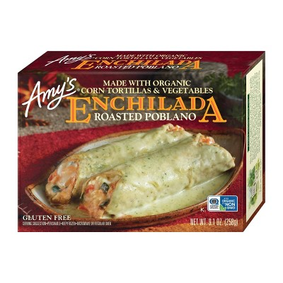Amy's Frozen Roasted Poblano Enchilada  - 9.1oz