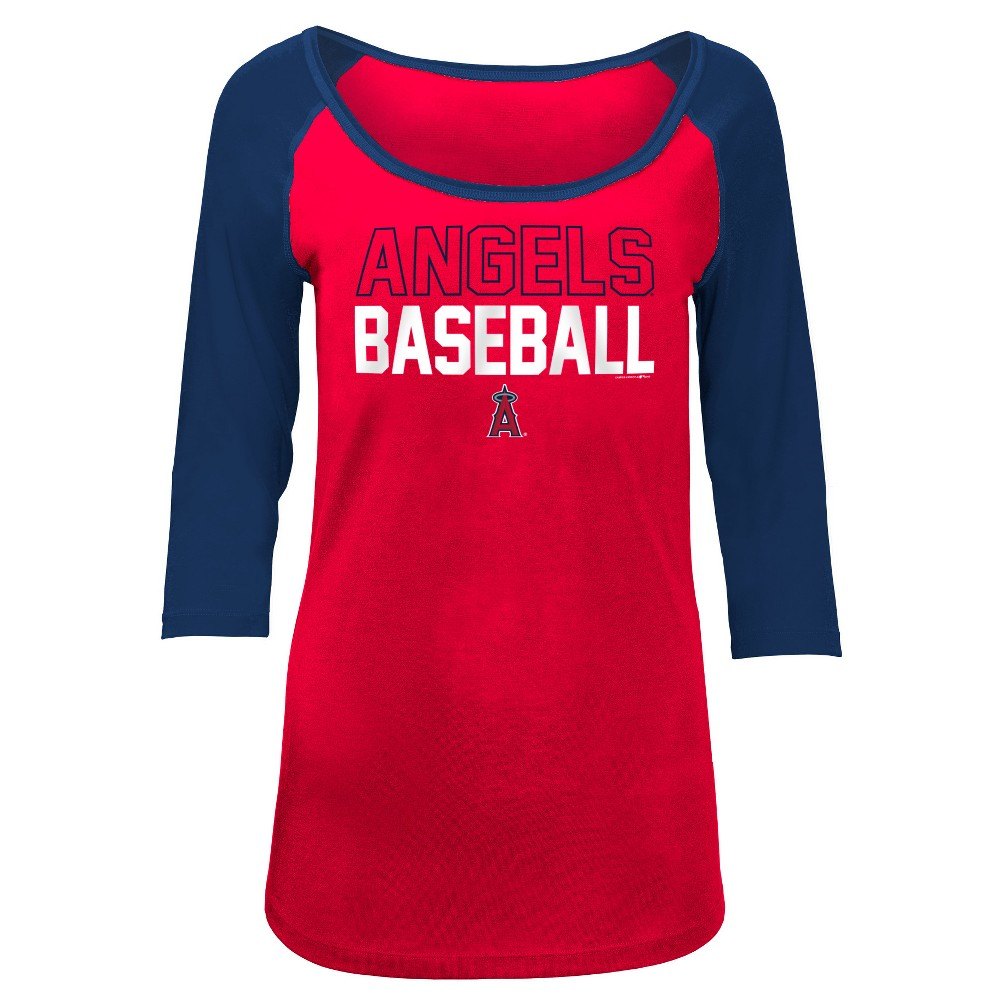 Los Angeles Angels Women's Play Ball Fashion Jersey - S, Multicolored